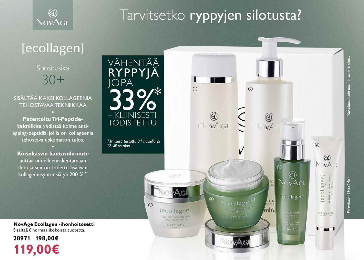 NovAge setti Ecollagen